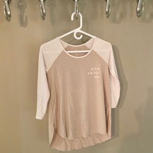 American Eagle Outfitters Tops - 3/4 American Eagle Tee.